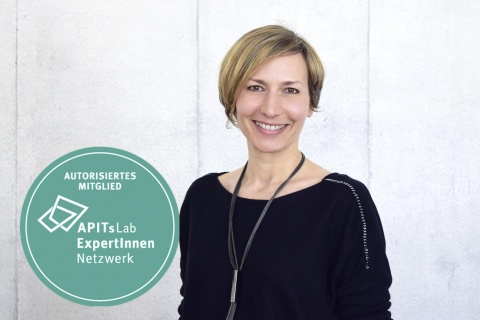Melanie Beisswenger, APITs Lab Expertin