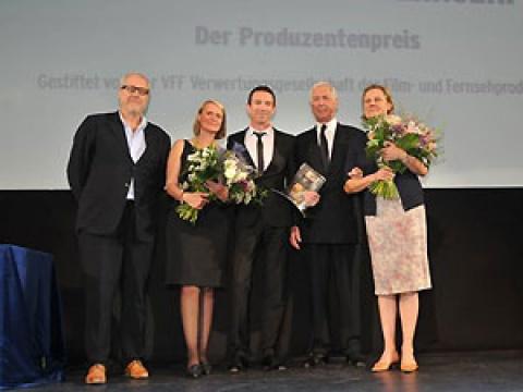 Bernd Burgemeister Fernsehpreis 2009 An Oliver Berben Für Der