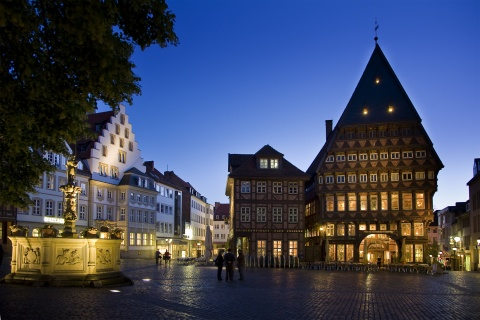 Marktplatz © Hildesheim Marketing/Leif Obornik