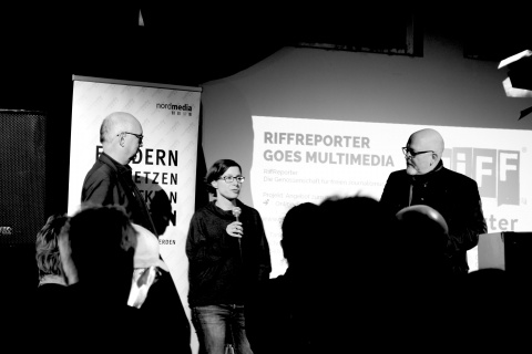 """RiffReporter goes Multimedia"""