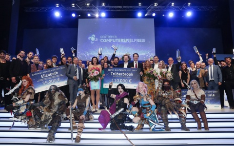 Die Gewinner des Deutschen Computerspielpreis 2019 in Berlin | Foto: Getty Images for Quinke Networks