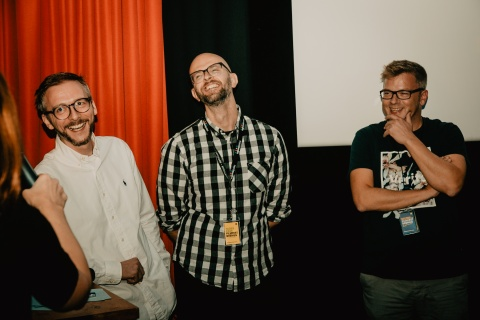 Team The Visual Truth mit Experte: Julian Lodders, Roman Wolter, Claas Premke (Deichblick)