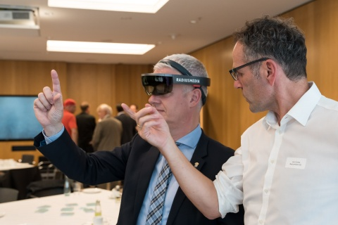 Augmented Reality mit der Microsoft HoloLense