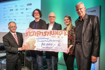 Filmfeierlaune und Scheck-is-back: nordmedia talk & night 2020