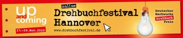 up-and-coming Drehbuchfestival vom 27. bis 29. November 2020 online