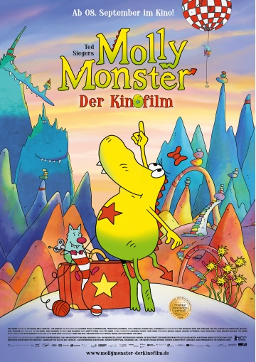 "Ab 08.09.2016 im Kino: ""Ted Siegers Molly Monster - der Kinofilm"""