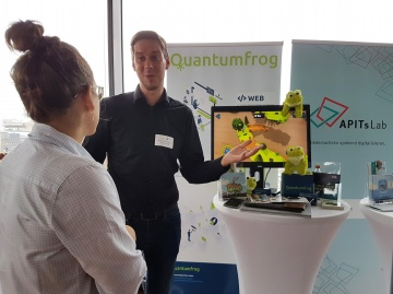 APITs Lab feat. Quantumfrog bei der Digitalisierungs-Convention